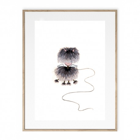 Tirage d'art - Mouton de poussière